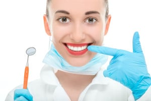 Woman Demonstrates Importance of Regular Dental Checkups